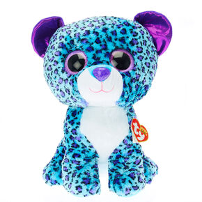 TY Beanie Boos Large Lizzie the leopard Soft Toy,