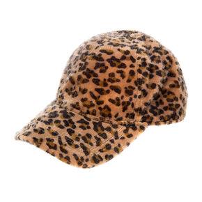 San Diego Hat Company Fuzzy Leopard Cap,