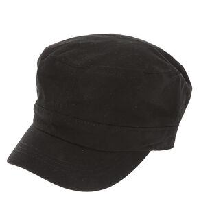 Black Military Cap,
