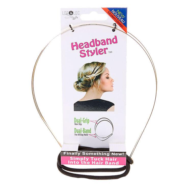 Gold Headband Styler,