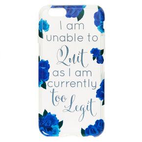 Too Legit To Quit Phone Case,