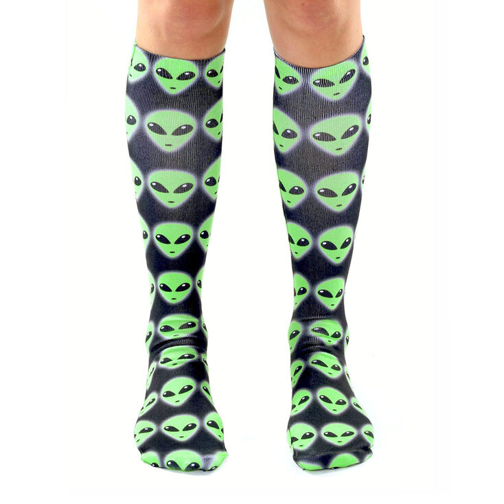 Living Royal Alien Knee High Socks,