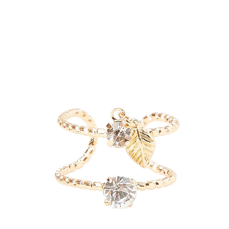 Double Layer Dangle Ring,
