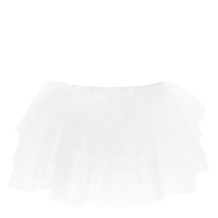 White Layered Tutu,