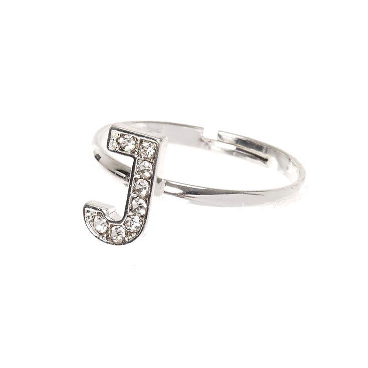 J Initial Adjustable Ring,