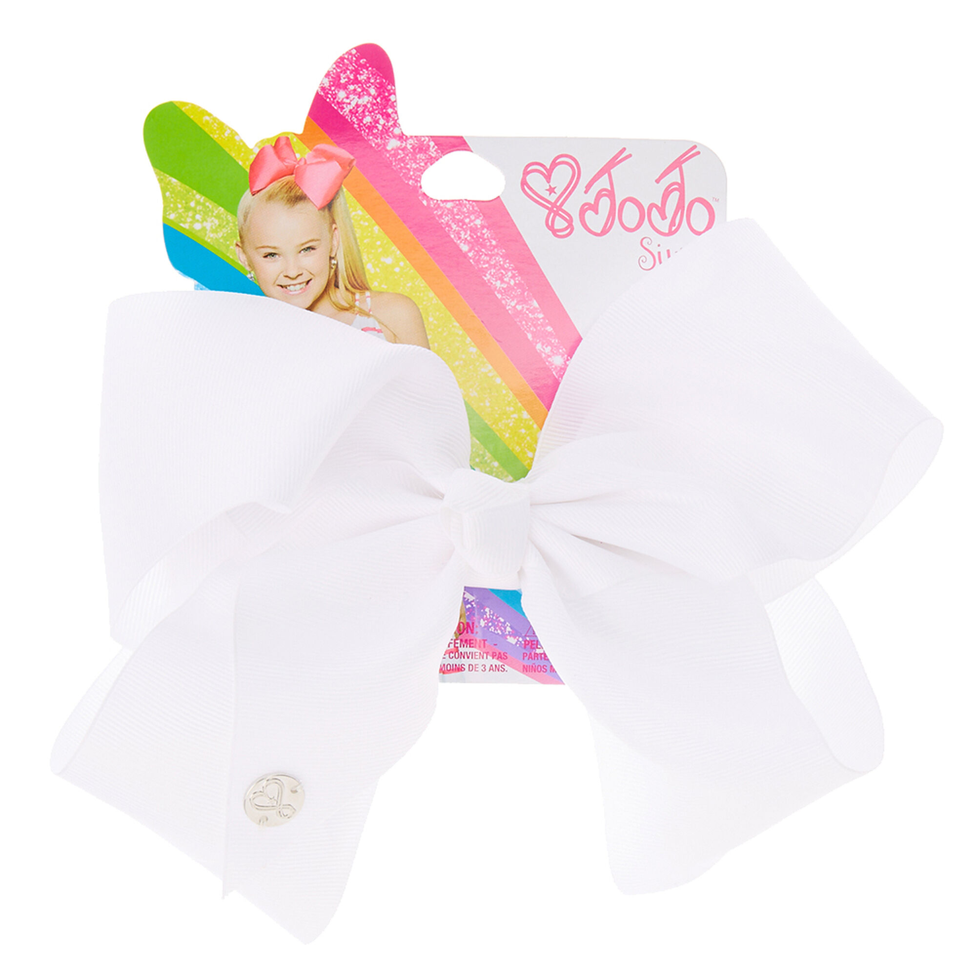 JoJo Siwa White Signature Hair Bow