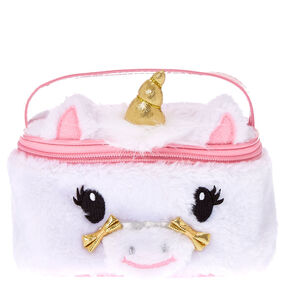 Gold Horn Unicorn Cosmetics Case,