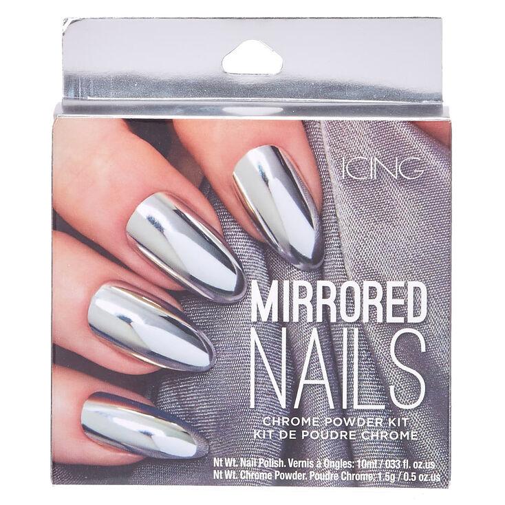 Silver Chrome Powder Nails Kit at Icing in Victor, NY | Tuggl