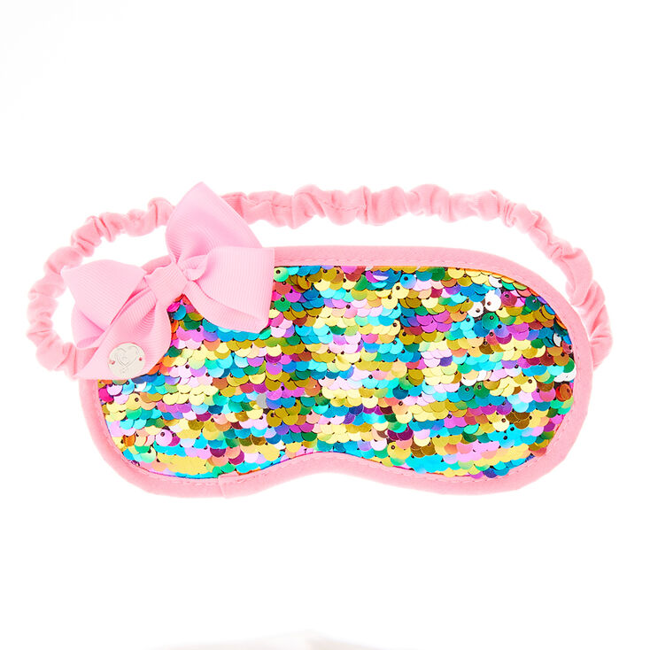 Jojo Siwa Rainbow Sequin Sleeping Mask Claire S