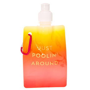 Just Poolin' Around Soft Flask,