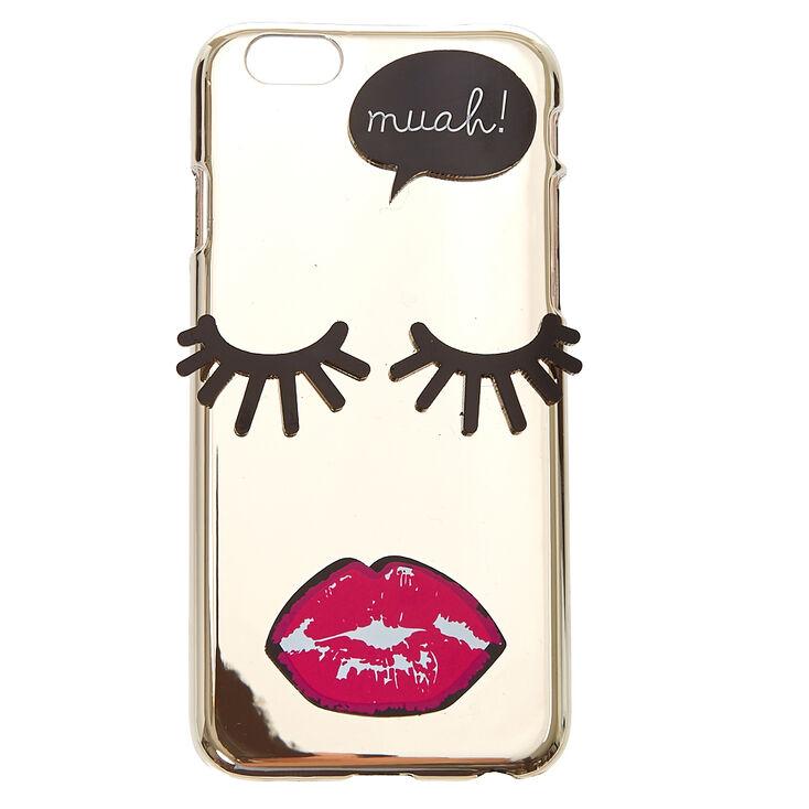 Muah! Mirrored Phone Case,