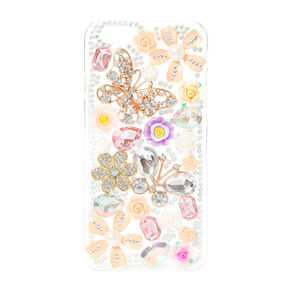 Blinged Out Roses Phone Case,