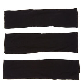 Black Trio Headwraps,