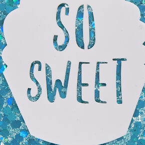 So Sweet Glitter Phone Case,