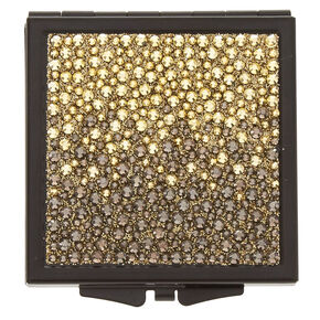 Gold Ombre Compact Mirror,