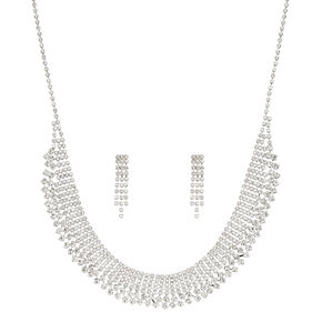 Jewel Necklace and Earring Set,