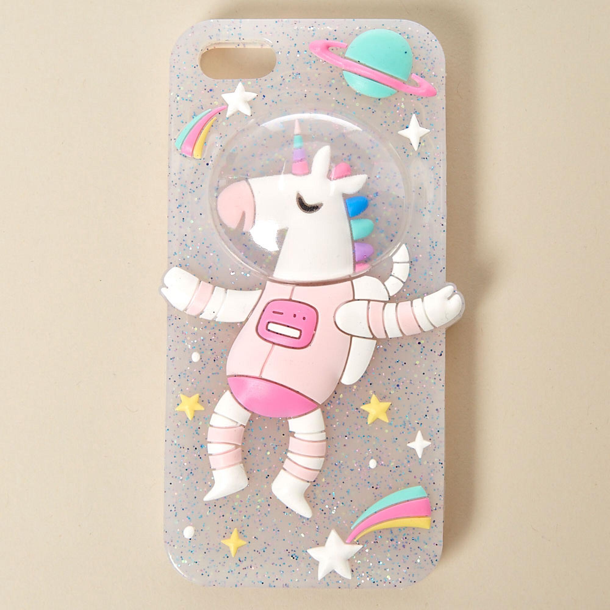 Squishy Unicorn Phone Case : Space Unicorn Phone Case Claire s US