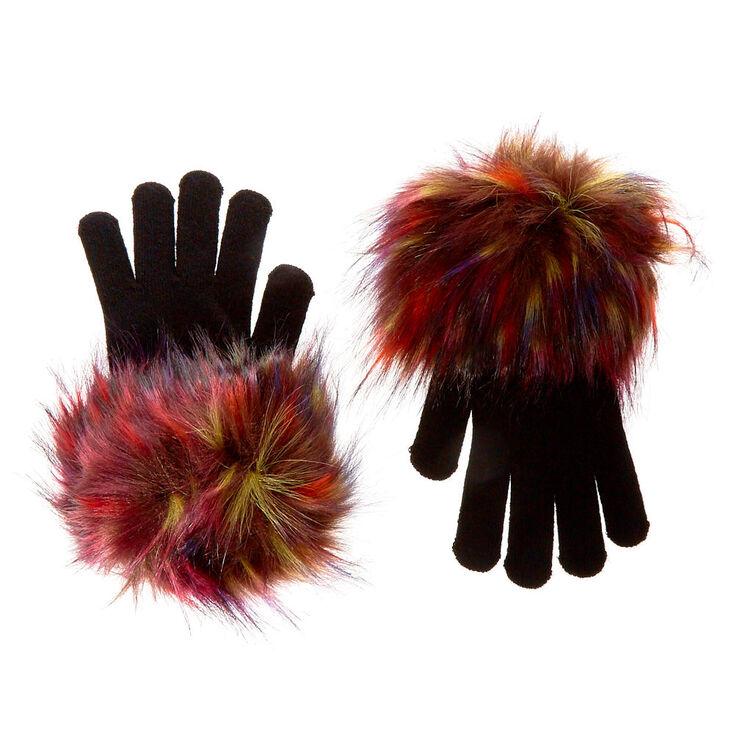 Audrey Faux Fur Gloves,