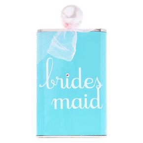 Mint Blue Bridesmaid Flask,