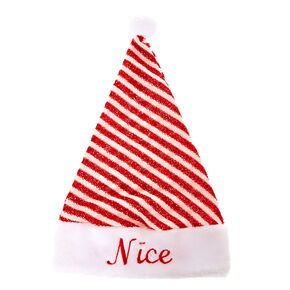 Naughty & Nice Santa Hat,