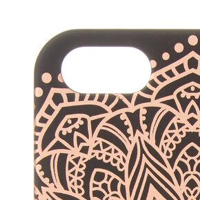 Rose Gold Mandala Phone Case,