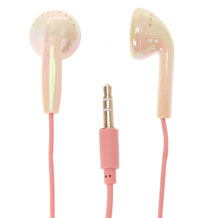 Pearl Holographic Earbuds,