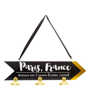 Paris Street Photo Clip Board,