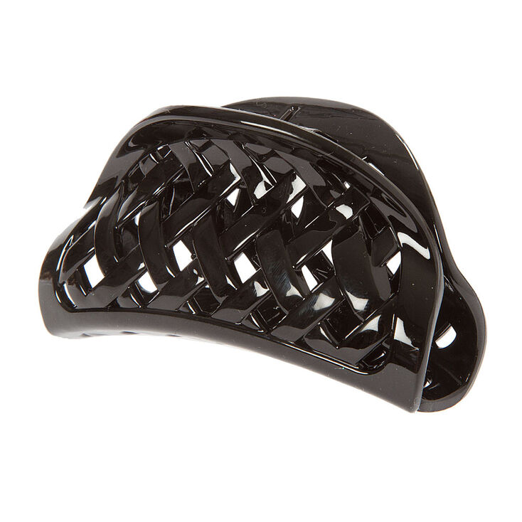 Black Basket Weave Claw Clip at Icing in Victor, NY | Tuggl