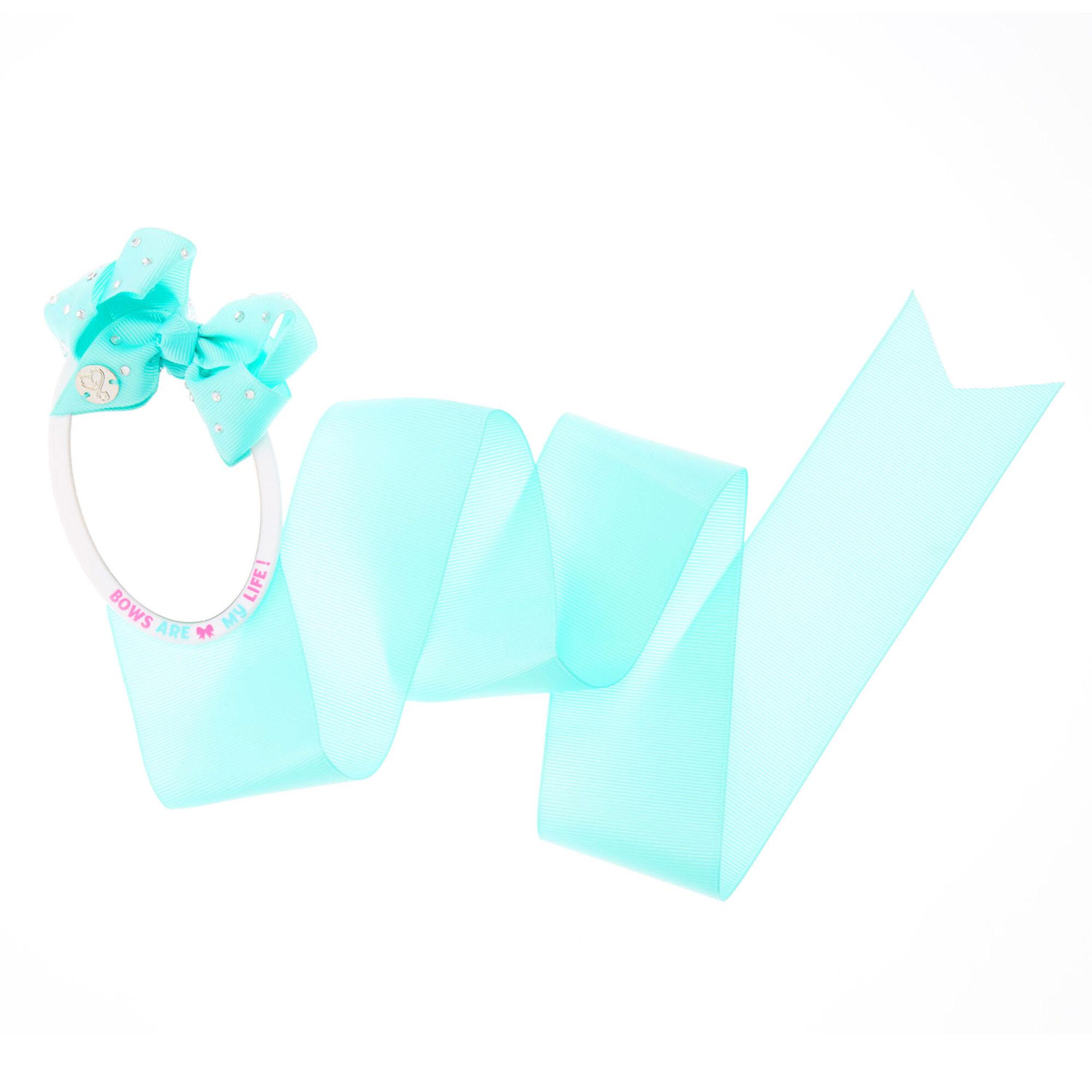 jojo siwa mint bow organizer amp mirror claire s us