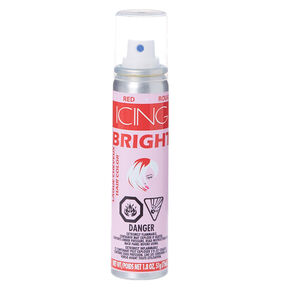 Red Bright Hair Color Spray,