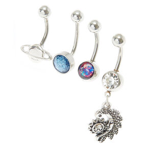 Out of This World Belly Button Ring Set,