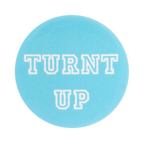 Turnt Up Mini Button,
