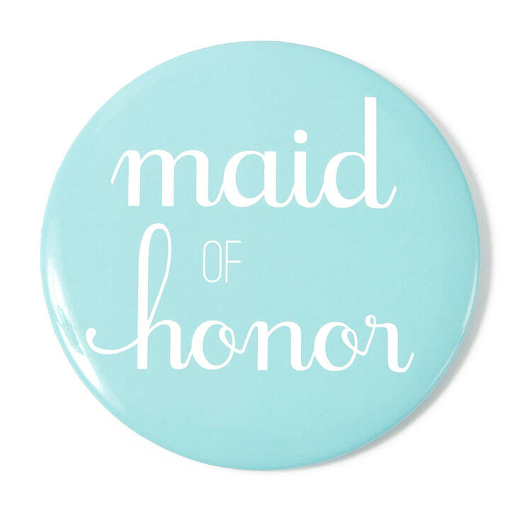Maid of Honor Button,