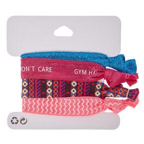 Gym Hair Don't Care Hair Ties,