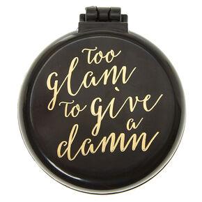 Too Glam Black Pop Up Hair Brush,