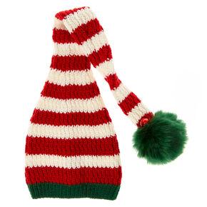 Jingle Bell Christmas Knit Stocking Hat,
