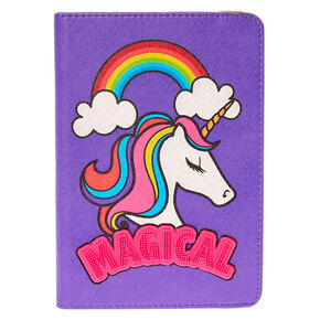 "8"" Universal Rainbow Unicorn Tablet Case,"