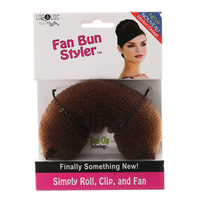 Brunette Fan Bun Styler,