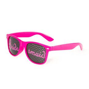 Bridesmaid Perforated Lens Sunglasses,