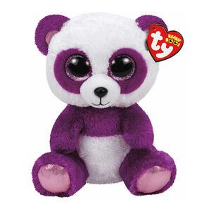 TY Beanie Boo Medium Boom Boom the Panda Plush Toy,