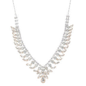 Champagne Duchess Crystal Necklace,