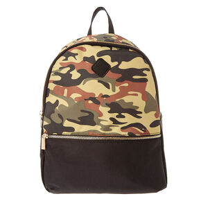 Green Camo Backpack,