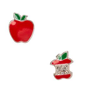 925 Sterling Silver Poison Apple Earrings,