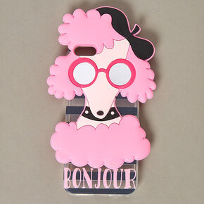 Pink Poodle Phone Case,