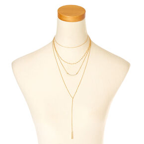 Gold Multi-Layer Necklace,