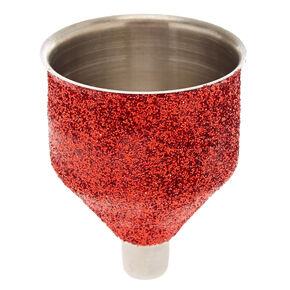 Red Glitter Funnel,
