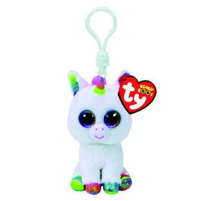 TY Beanie Boos Pixy The Unicorn Keyring Clip,