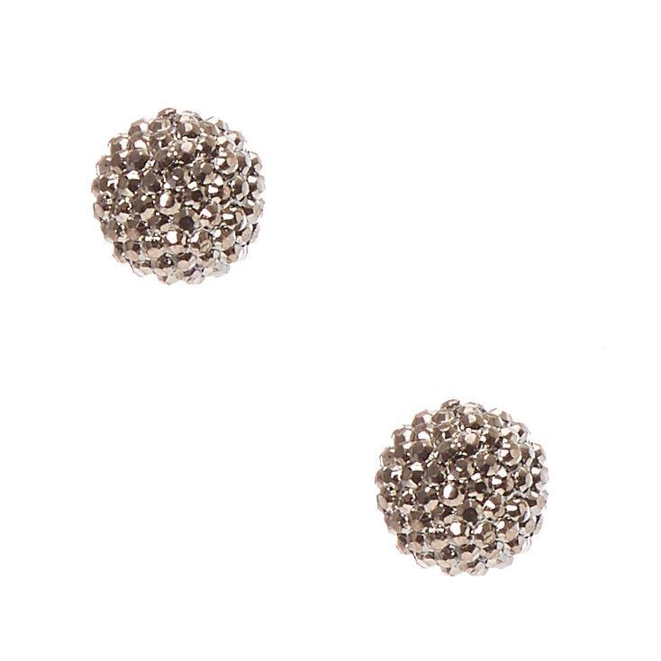 charcoal fireball stud earrings s us