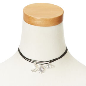 Celestial Themed 3 Pack Choker Necklaces,