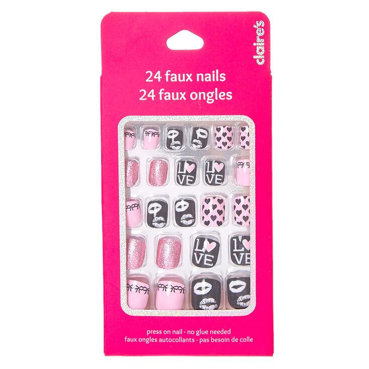 love false nails claire 39 s us. Black Bedroom Furniture Sets. Home Design Ideas